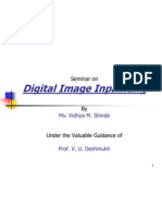 Digital Inpainting