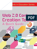 Web 2.0 Content Creation Tools