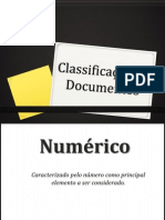 Classificaçao de Documentos