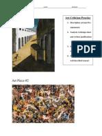 Art Piece 1-2 - Art Criticism Practice