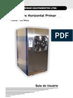 Manual Autoclave Horizontal