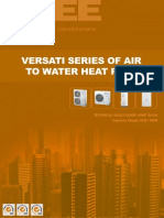 Versati Dc Inverter Heatpump Tsg