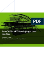AutoCAD« .NET Developing a User Interface