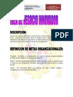 ORGANIZACIÓN - INFORME FINAL