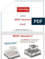 Revit Structure Video Cadclip Training Outline