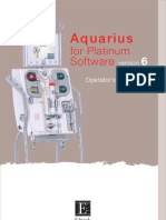 Aquarius for Platinum Software version 6 - Operator+Manual - English