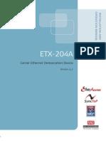 Rad Etx 204a v2 2 Manual