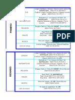 textos Primaria curso 2012-2013