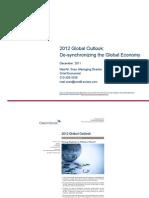 Desynchronising Global Economy