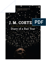35534484 J M Coetzee Diary of a Bad Year