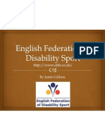 English Federation of Disability Sport Powerpoint