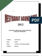 Buku Program Mesy Agung PIBG 2012