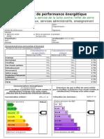 DPE _modèle Bureaux