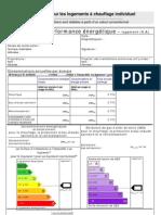 DPE _modèle Logements Locatifs