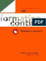 Catalogue a Distance
