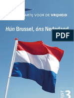 VerkiezingsProgramma PVV 2012 Final Web