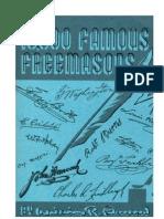 10.000 Famous Freemasons Volume 4 Q-Z