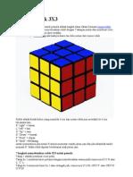Rumus Rubik 3X3