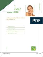 Beauté Aromatique Treatment Booklet