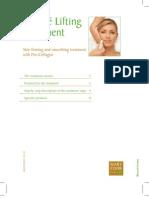 Beauté Lifting Treatment Booklet