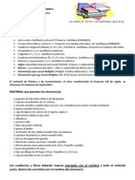 Los Libros y Los Materiales 2012-2013