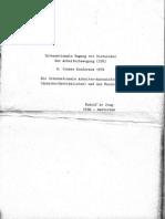 Rudolf de Jong - Die Internationale Arbeiter-Assoziation (Anarcho-Syndikalisten) und der Faschismus (1974)