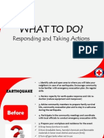 F. Responding and Taking Actions the Basics of DISASTER MANAGEMENT