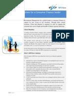 Elixir RPOSure Case Study- Global Leader in Consumer Finance