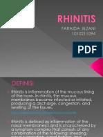 Rhinitis