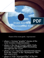 Avant Garde Film