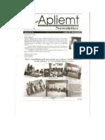 Apliemt Newsletter, ano xi, No. 16, Cuiabá novembro 2011
