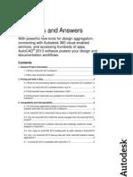 Autocad 2013 - Preguntas más frecuentes en inglés