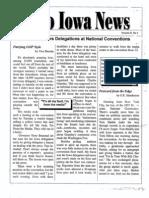 Radio Iowa Newsletter - 1992