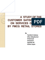 Service Marketing Retail Mini Project