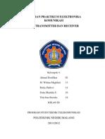 Laporan Praktikum Elektronika Komunikasi