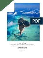 Juan de Nova Du Gaz Dans Leau Entre La France Et Madagascar