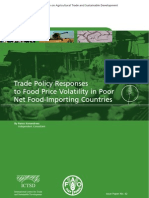 Trade Policy Responses to Food Price Volatility in Poor Net Food Importing Countries