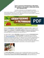 AltaBadia Orienteering 2012