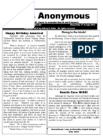 Idiots Anonymous Newsletter 20