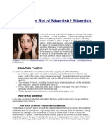 How to Get Rid of Silverfish? Silverfish Control