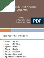 Presentasi Kasus Anemia