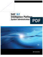 SAS ADmin Platform