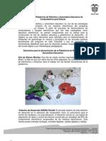 Descripción Plataforma Robótica y Automática Educativa de CPE