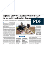 Papas nativas de Peru son exito