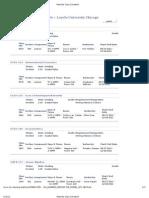 E Alt Fall 2012 Schedule