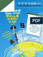 Bulle D'Eau Z'AIR  20 ème Festival Chauffer Dans La Noirceur