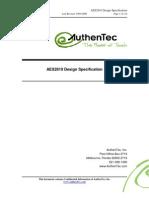 AES2810 Design Specification V1 20