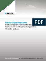 iMeet Online Videointerviews