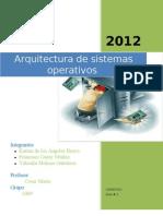 Guia Arquitectura de sistemas operativos