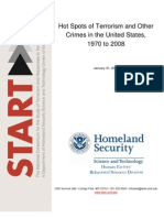Hot Spots of Terrorism and Other Crimes in the United States, 1970 to 2008